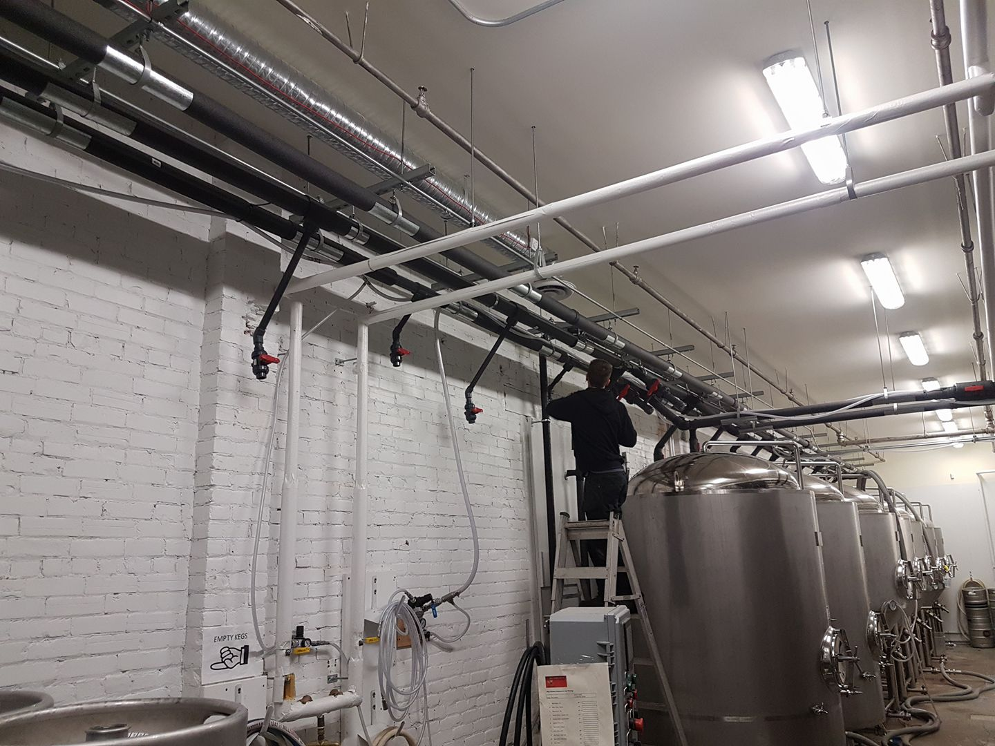 Brewery Refrigeration Contractor Kelowna